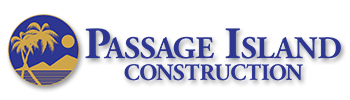 Passage Island Construction Logo