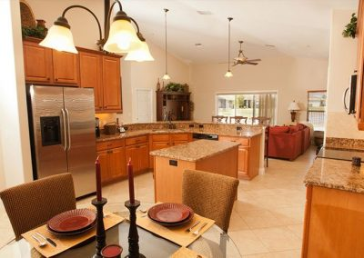 Furnished Kitchen And Dining