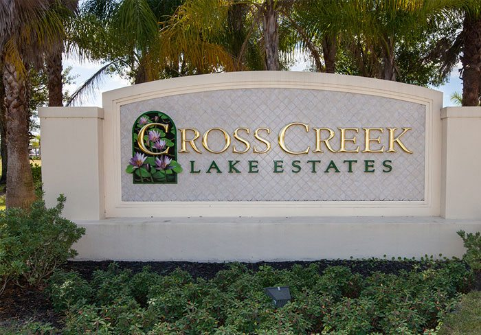 Cross Creek Sign