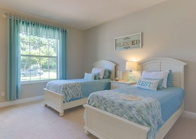 Twin Beds In Bedroom