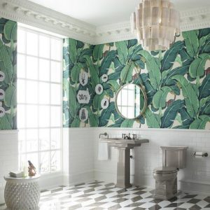 Tropical prints will forever be a staple in Florida interior design. It creates a fun element to any rooms while giving your home a unique and classic feel.