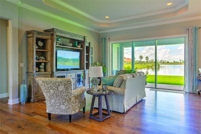 great room options for custom built homes