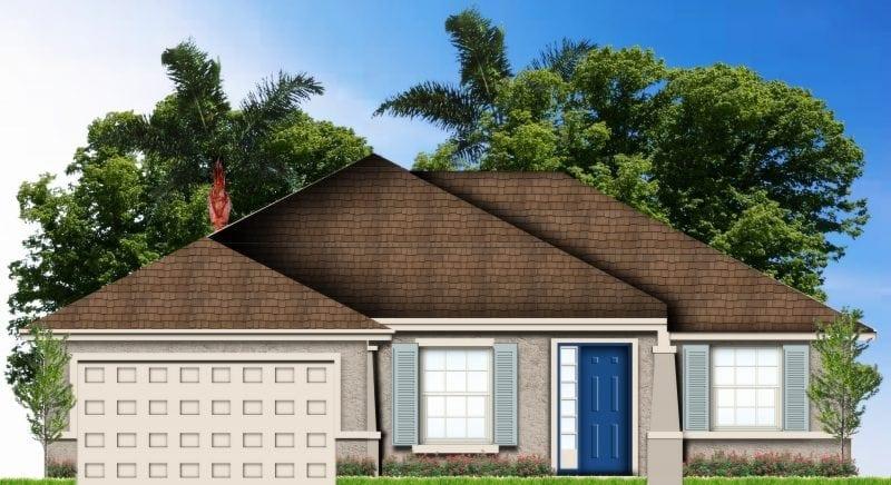 Custom Home Plans Foxtail Palm