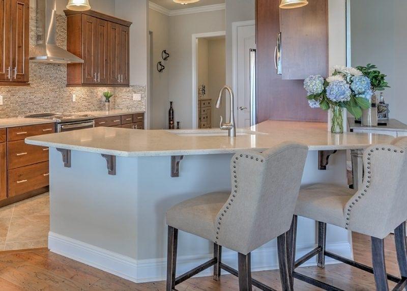 New Home Construction Custom Kitchen